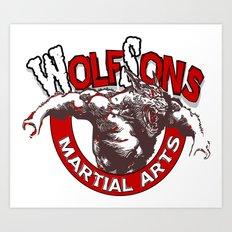 WolfSons2 Art Print