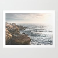 Ocean (Rocks Within The … Art Print