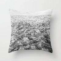 LA MER ENCORE Throw Pillow