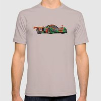 787B Mens Fitted Tee Cinder SMALL