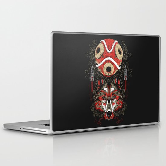 Mononoke Totem Laptop & iPad Skin