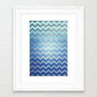 Thinking Of The Sea Framed Art Print