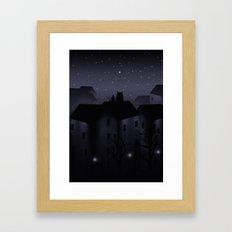 Northern Star Framed Art Print
