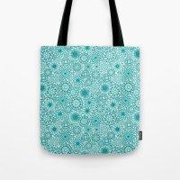 Ceramic Flowers (Atoll) Tote Bag