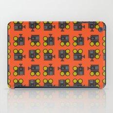 camera 01 pattern iPad Case