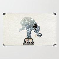 Elephant Circus  Rug