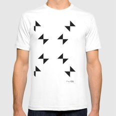 :::CRIME_WEATHER::: Mens Fitted Tee SMALL White