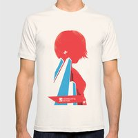 Mirror's Edge Mens Fitted Tee Natural SMALL