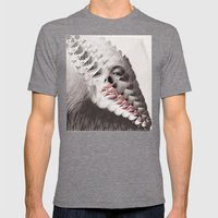 Soul Embarks Mens Fitted Tee Tri-Grey SMALL