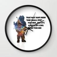 Man On The Moon Wall Clock