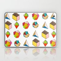Platonic Solids Laptop & iPad Skin