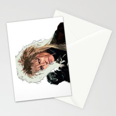 D. Bowie, inside the labyrinth Stationery Cards