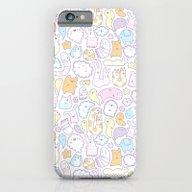 Dreamy Pastel Doodle iPhone 6 Slim Case