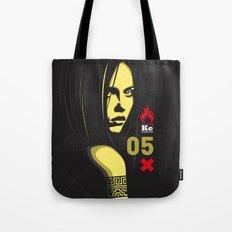 Fashion Dark Woman Tote Bag