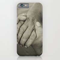 iPhone & iPod Case featuring manos trabajadoras by guxuri