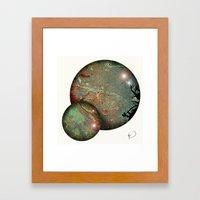 Tokyo Balls Framed Art Print