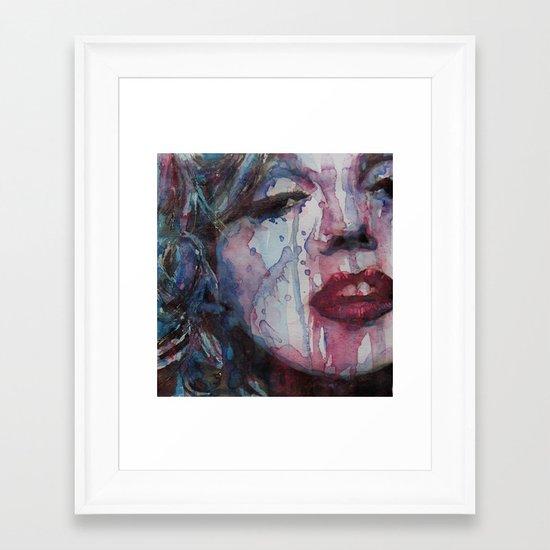 Beneath You Beautiful Framed Art Print