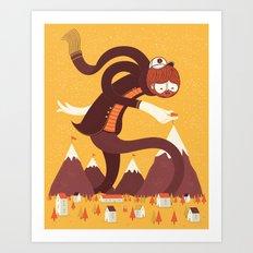Best Alpinist Ever Art Print