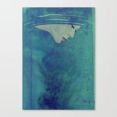 Beneath Canvas Print