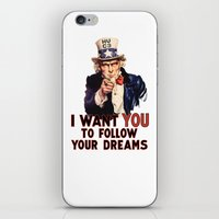 My Uncle Sam iPhone & iPod Skin