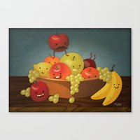 Froot Bowl Canvas Print