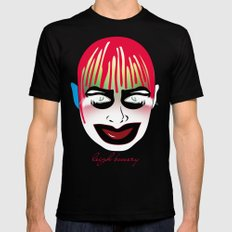 leigh bowery Mens Fitted Tee Black SMALL