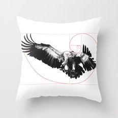 Sacred Vulture classic Throw Pillow