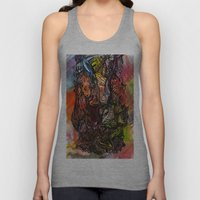 Watercolor Illusion  Unisex Tank Top