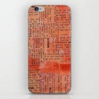 Hitchens  iPhone & iPod Skin