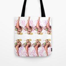 Beach Babe Print Tote Bag