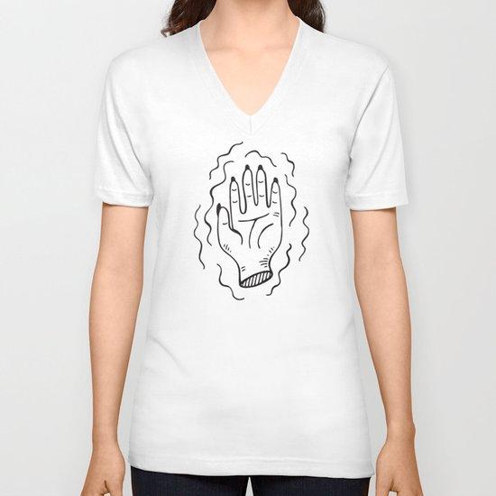 Handy Work V-neck T-shirt