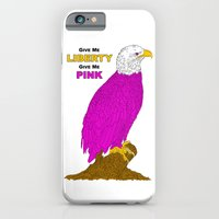 PINK LIBERTY EAGLE iPhone 6 Slim Case