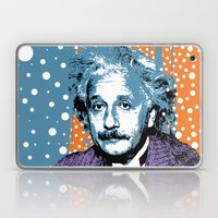 Blue Einstein Laptop & iPad Skin