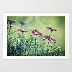 autumn gems Art Print