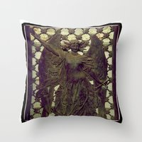 ColnaCrypt1 Throw Pillow