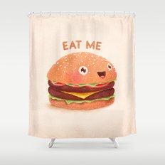 Burger Shower Curtain