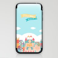 It's A Small World iPhone & iPod Skin