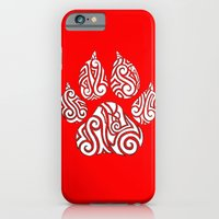 Tribal Tiger Paw iPhone 6 Slim Case