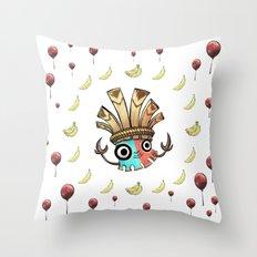 Kalimba Tiki DK Country Returns Throw Pillow