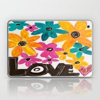 Dancing Flowers Laptop & iPad Skin
