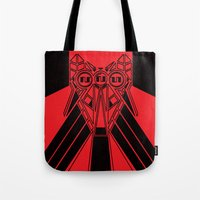 Power Wolf Tote Bag
