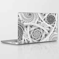 GET LOST - Black And Whi… Laptop & iPad Skin