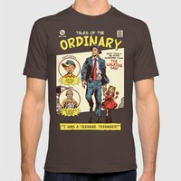 Tales Of The Ordinary Mens Fitted Tee Brown SMALL