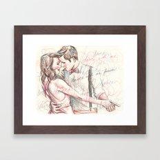 Dance With Me Forever Framed Art Print
