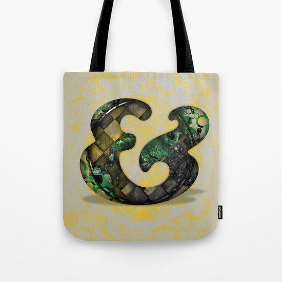 Ampersand Series - Cooper Std Typeface Tote Bag