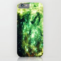 Green Galaxy Nebula iPhone 6 Slim Case
