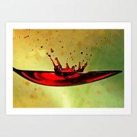 Table Spoon Art Print