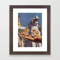 Collage #10 Framed Art Print