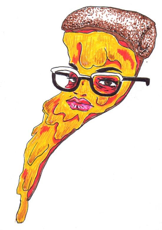 pixxa face Art Print