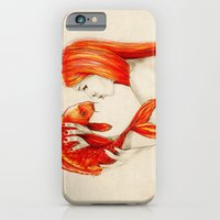 iPhone & iPod Case featuring Playing Koi by Isaiah K. Stephens